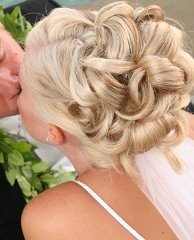 The Wedding Blonde Bun Chic Hairstyle