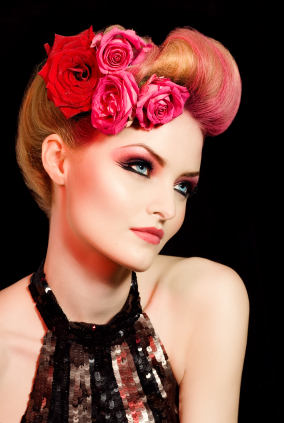 Vintage Inspired Hairstyles 1 - Romantic Coiffure